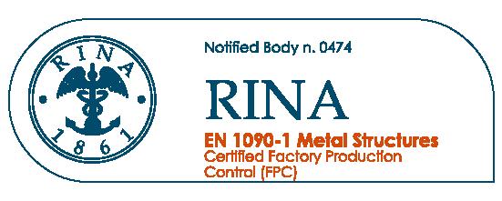 Certificazione 1090-1 Zucca Costruzioni